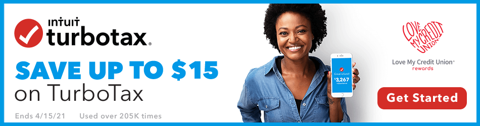 TurboTax - Save Up To $15 on TurboTax - Love My Credit Union - Altura Credit Union